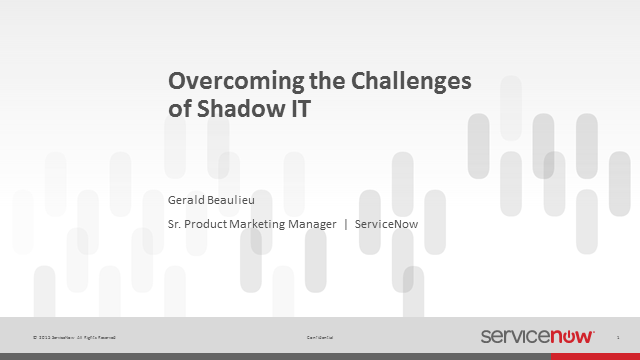 Overcoming the Challenges of Shadow IT