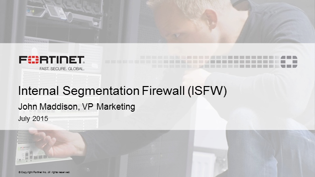 Why Your Firewall Strategy Isn't Working: All About Internal Network Firewalls