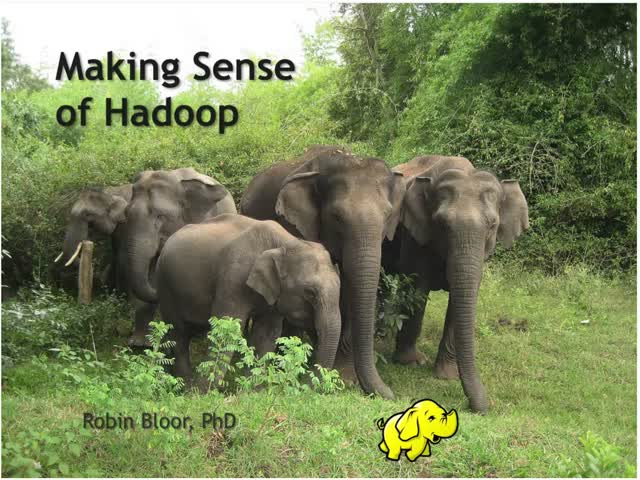 Making Sense of Hadoop - Panel Discussion - The Bloor Group