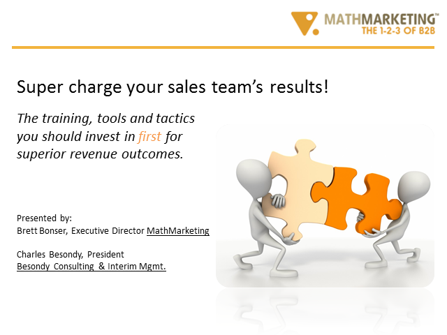 Optimising your investment in Sales: The training and tools for superior revenue