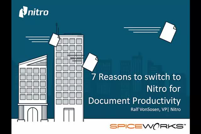 7 Reasons IT Pros Are Switching to Nitro