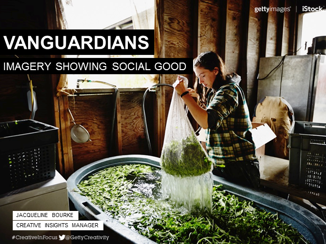Visual Trends Webinar: Vanguardians - Imagery showing social good