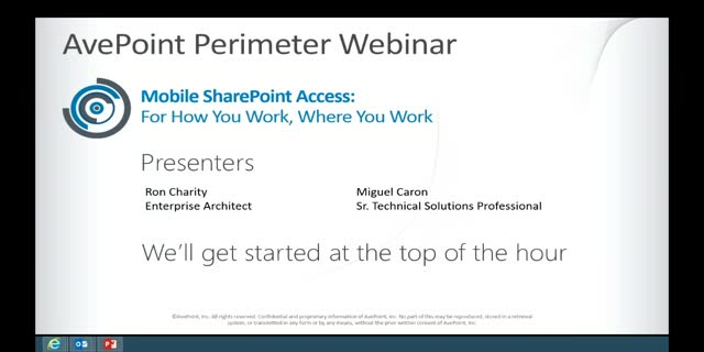 Extend the Collaboration Power of On-Premises SharePoint Beyond the Walls