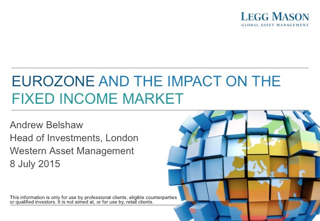 Eurozone and the Impact on the FI Market