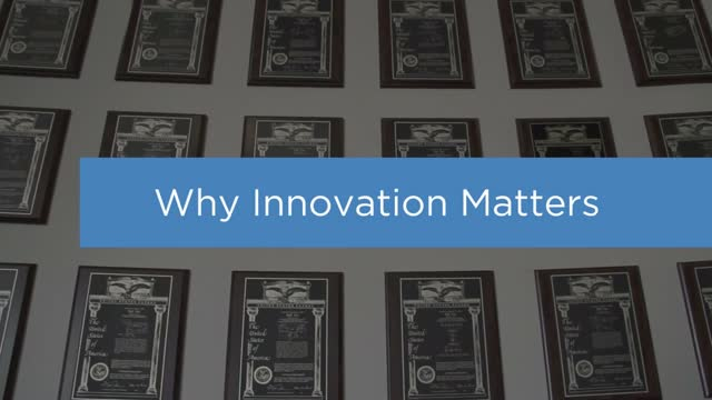 Why Innovation Matters