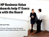 How HP Business Value Dashboards help IT Execs score with the Board