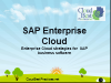 SAP Enterprise Cloud: Enterprise Cloud strategies for SAP business software