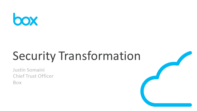 Security Transformation: The Current Evolution and How to Manage It