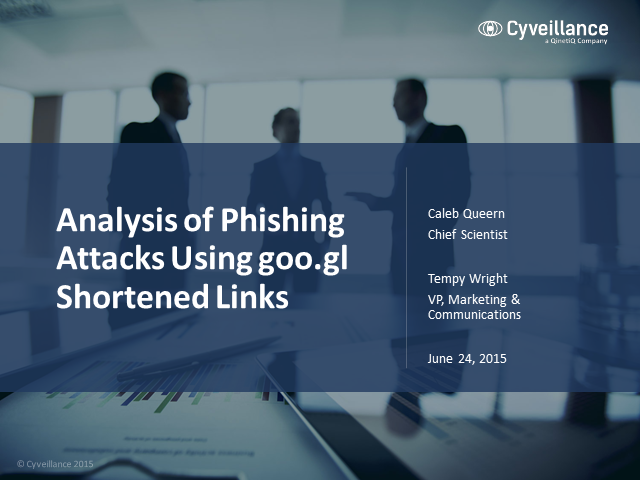 Analysis of Phishing Attacks Using goo.gl Shortened Links