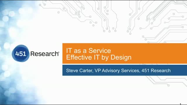 How to Design and Deliver Effective IT as a Service in Your Enterprise