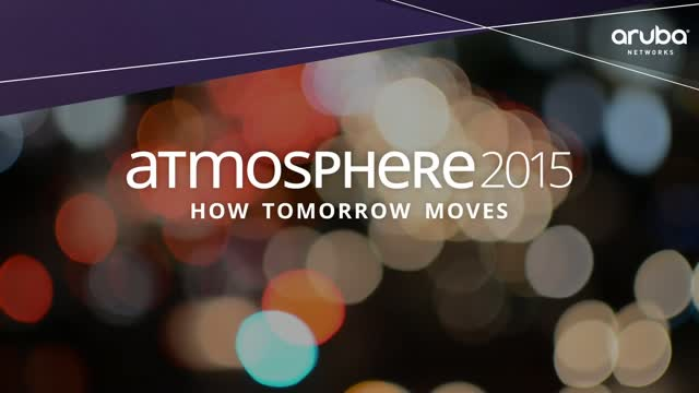 Atmosphere 2015: Aruba Welcomes Jayshree Ullal, CEO, Arista Networks