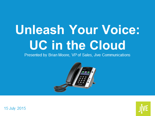 Unleash Your Voice: UC in the Cloud