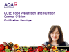 GCSE Food Preparation and Nutrition: new draft specification explained