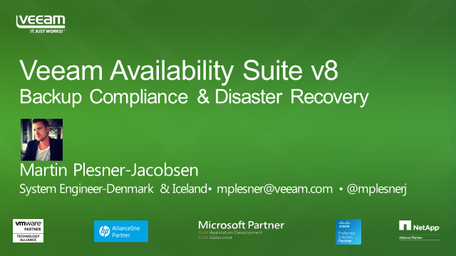 Backup Compliance & DR: Protecting critical data in your virtual infrastructure