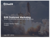 B2B Customer Marketing: What it is, and What You Should be Doing Now