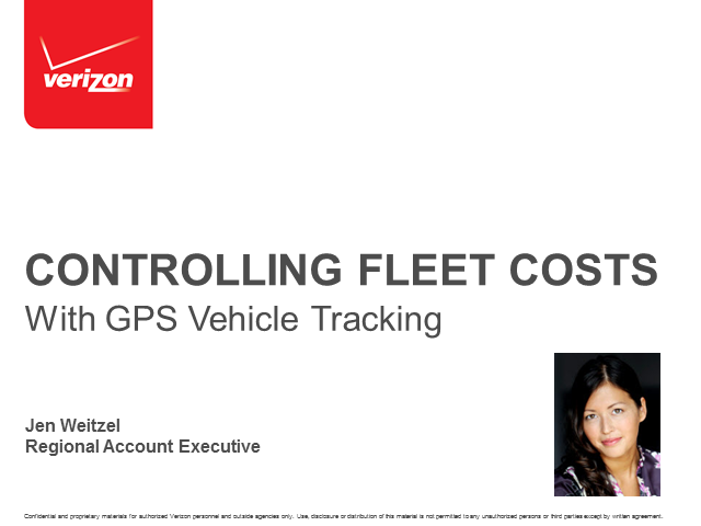 Controlling Fleet Costs with GPS Vehicle Tracking