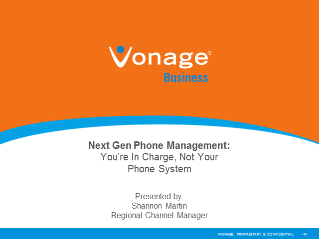 Next Gen Phone Management: You're In Charge, Not Your Phone System