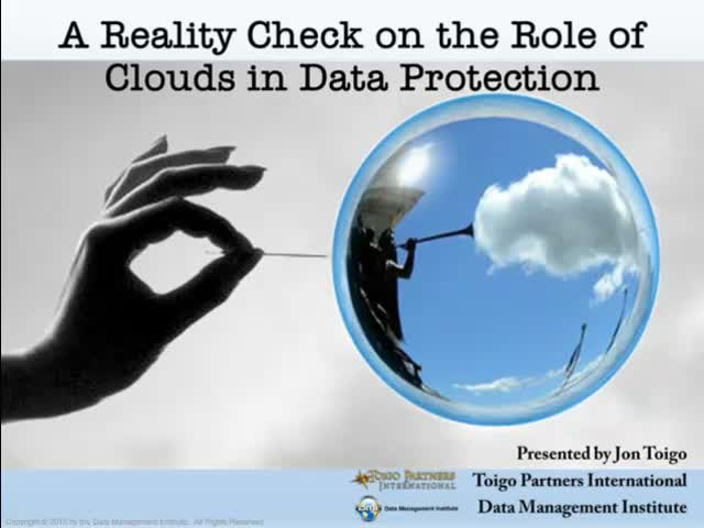 Defining The Role of Cloud in Your Data Protection Business Continuity Plan