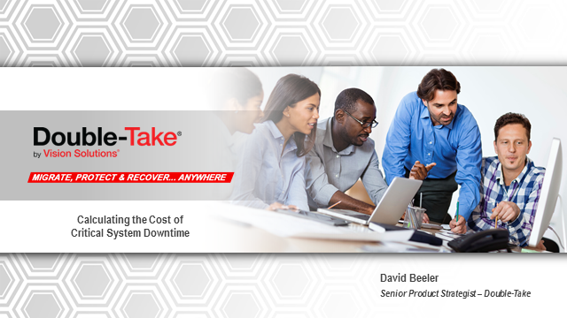 Calculating the cost of critical system downtime