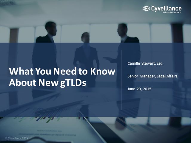 What You Need to Know About New gTLDs