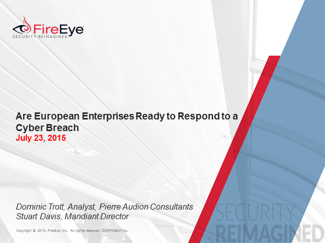 Are European Enterprises Ready to Respond to a Cyber Breach?