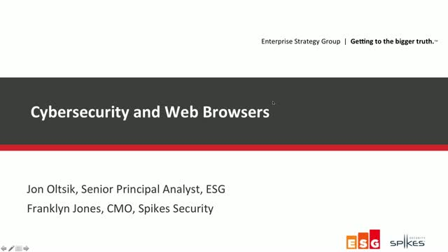 New ESG Research Provides Insight Into Browser (in)Security