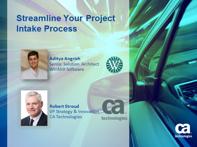 Streamline Your Project Intake Process (1 PDU)