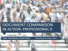 Workshare Webinars: Document Comparison in action with Professional 9