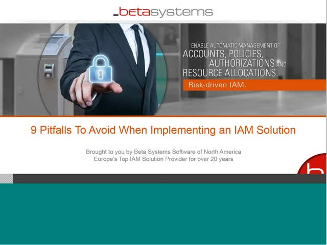 Top 9 Pitfalls to Avoid When Implementing IAM Solutions