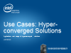 Applications, Hyper-Converged and the Data Center