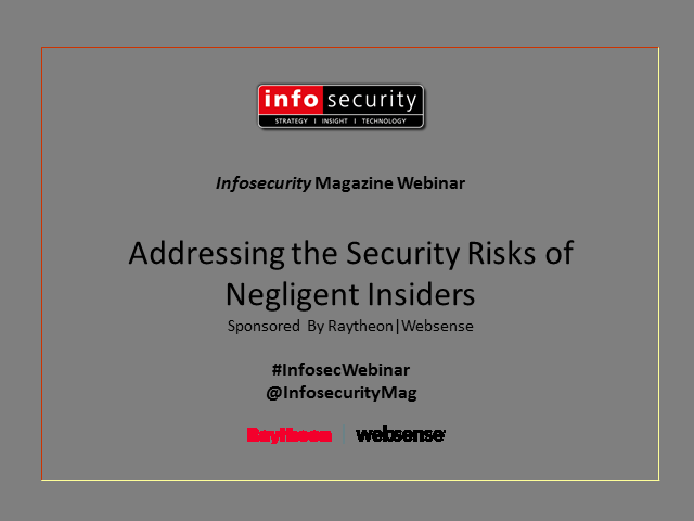 Addressing the Security Risks of Negligent Insiders