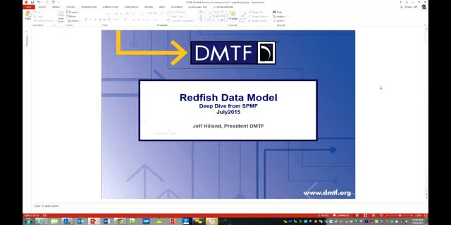 Redfish Data Model Deep Dive