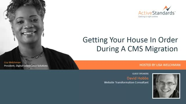 Getting Your House In Order During A CMS Migration