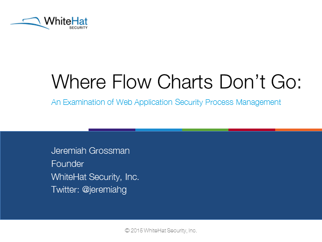 2015 Stats Report Explained, Where Flow Charts Don't Go