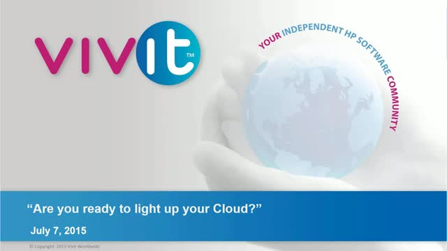 Are you ready to light up your Cloud?