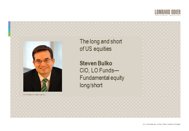 The long and short of US equities