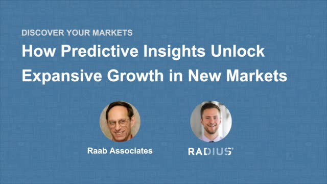 How Predictive Insights Unlock Expansive Growth in New Markets