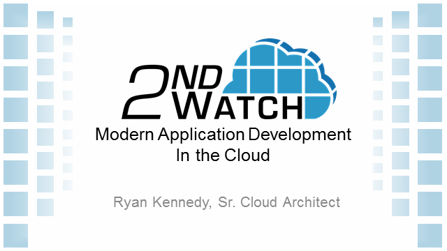 Modern Application Architecture in the Cloud