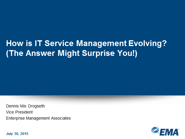 How and Why IT Service Management is Evolving in the Digital Age