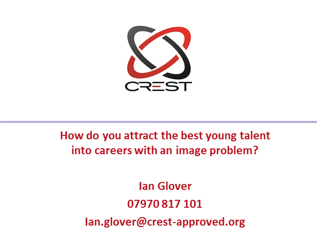 How Do You Attract The Best Young Talent into Careers With an Image Problem?