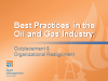 Best Practices in Oil & Gas: Outplacement & Organizational Realignment