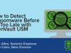 Detect Ransomware Before Its Too Late with AlienVault USM