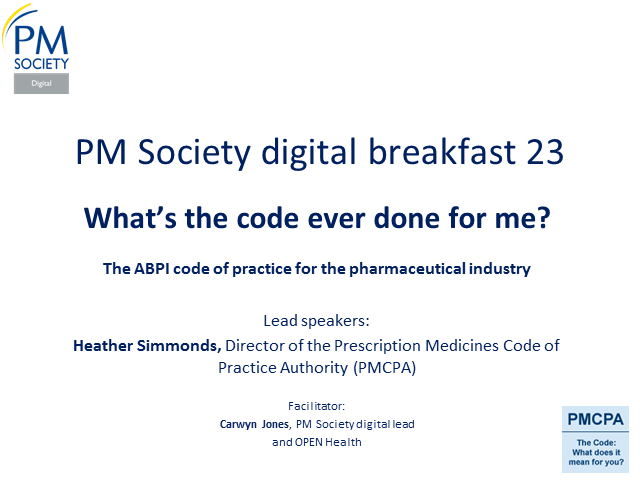 Digital Breakfast 23 - What's the code ever done for me?