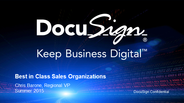 How Best-in-class Sales Organizations Keep Business Digital