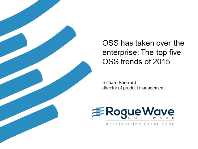 OSS has taken over the enterprise: The top five OSS trends of 2015