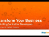RingCentral Live - 7/10/2015 – Integrating Communications, Workflow and BI