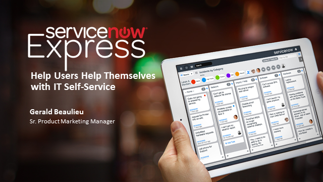 Help Users Help Themselves with IT Self-Service