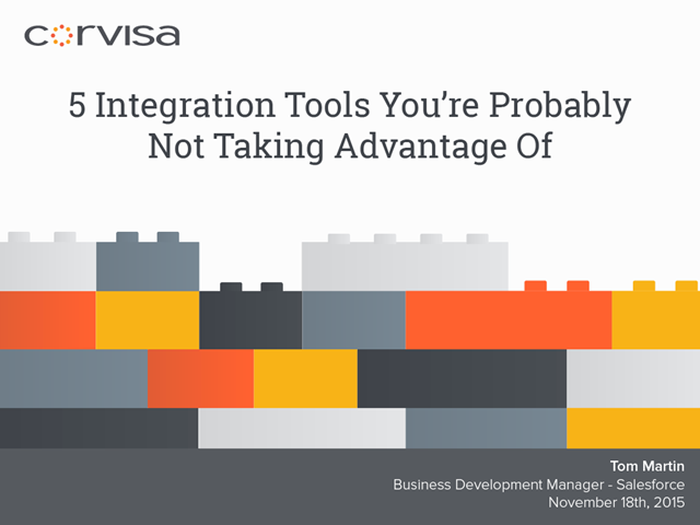 5 Integration Tools You're Probably Not Taking Advantage Of