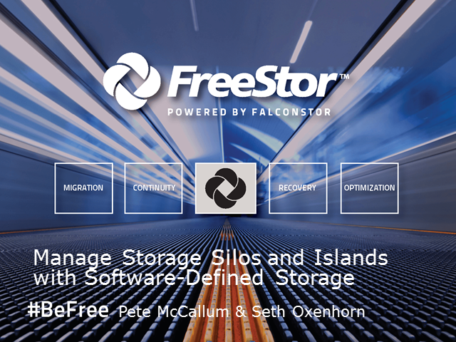 Manage Storage Silos and Islands with Software-Defined Storage