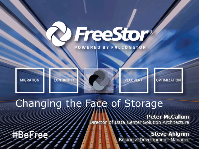 Changing The Face Of Storage